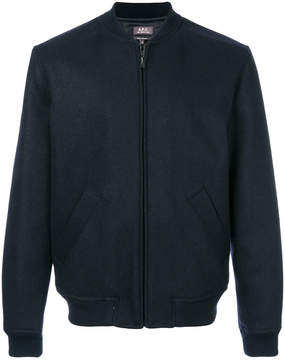 A.P.C. fitted bomber jacket