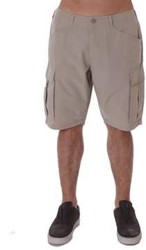Napapijri Men's Beige Cotton Shorts.