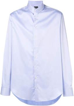 Giorgio Armani curved hem shirt