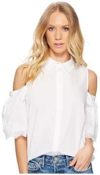 BB Dakota Elora Cold Shoulder Blouse Women's Clothing