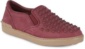 Valentino Men's Leather Slip-On Sneakers