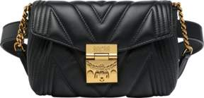 MCM Patricia Belt Bag In Quilted Leather