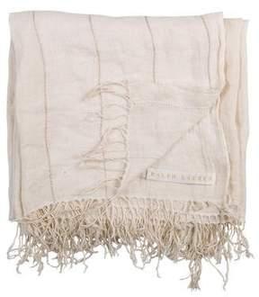 Ralph Lauren Linen Throw