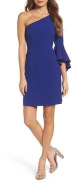 Chelsea28 Women's One-Shoulder Crepe Sheath Dress