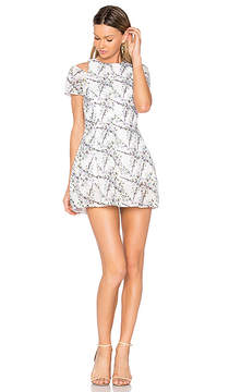 Elliatt Euphoria Cold Shoulder Dress