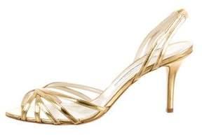 Oscar de la Renta Ramona Slingback Sandals w/ Tags