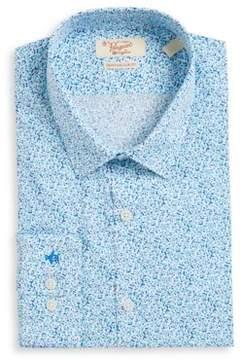 Original Penguin Slim Fit Floral-Print Dress Shirt