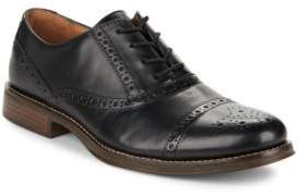 G.H. Bass Woolfe Perforated Cap-Toe Leather Oxfords