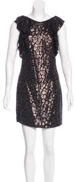 Camilla And Marc Brocade Mini Dress