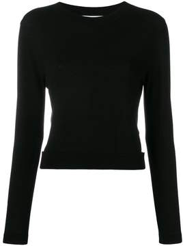 Blugirl cut out cropped jumper