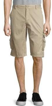 Buffalo David Bitton Hevan Cotton Cargo Shorts