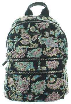 Steve Madden Womens Bmidi Prep Floral Print Faux Leather Trim Backpack