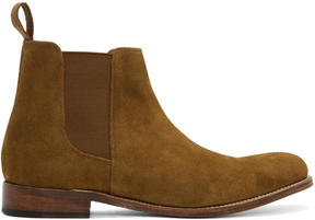 Grenson Tan Suede Declan Boots