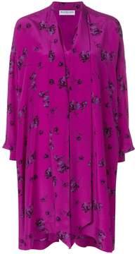 Balenciaga Vareuse printed dress