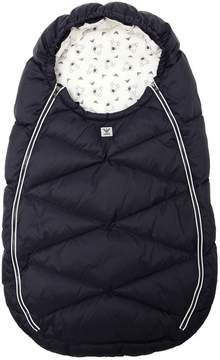 Armani Junior Quilted Nylon Down Baby Bunting