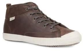 Simple Waltham Two-Tone Hi-Top Sneakers