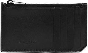 Fragment Leather Zip Card Holder