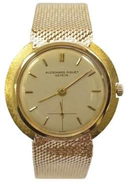 Audemars Piguet 18K Yellow Gold Unisex Wristwatch