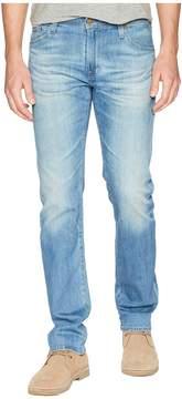 AG Adriano Goldschmied Matchbox Slim Straight Leg Denim in 17 Years Morro Bay Men's Jeans