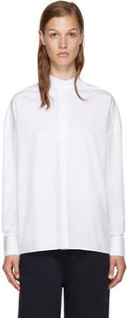 Each X Other White Band Collar Shirt