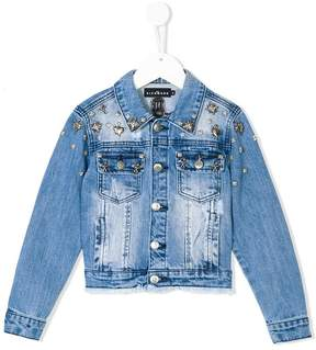 John Richmond Kids studded denim jacket