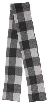 Max Mara Weekend Plaid Knit Scarf