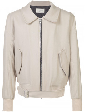 Fear Of God collared zip front jacket