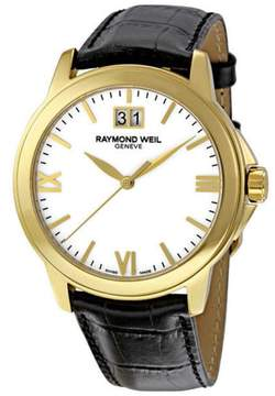 Raymond Weil 5476-P-00307 Tradition White Dial Mens Watch