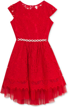 Rare Editions Lace Dress, Little Girls (4-6X), Created for Macy's
