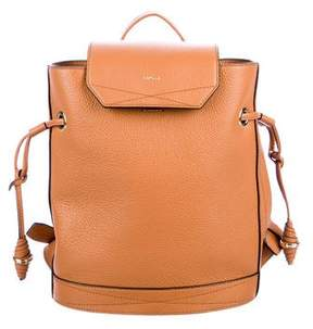 Lancel Grained Leather Backpack w/ Tags
