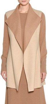 Agnona Platino Light Cashmere Vest