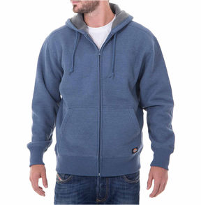 Dickies Thermal Sherpa Lined Full Zip Hoodie-Big