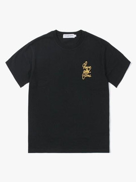 Have A Good Time Letter Logo S S Tee Black