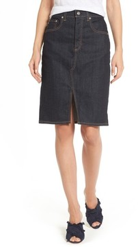 AG Jeans Women's Emery High Waist Denim Skirt