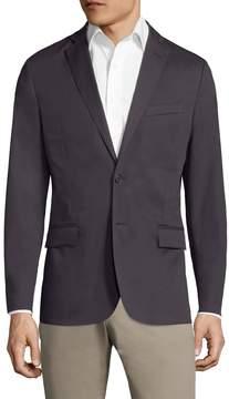 J. Lindeberg Men's Hopper Unc Wr Cotton Sportcoat