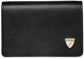 Aspinal of London Accordion Credit Card Holder In Smooth Black
