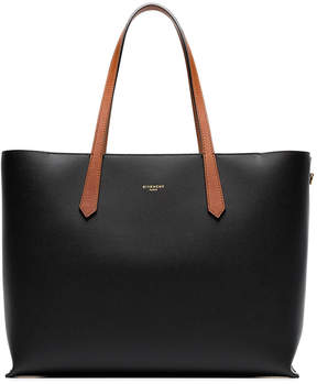 Givenchy Black Leather Shopper Bag