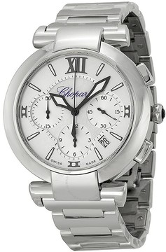 Chopard Imperiale Chronograph Mother Of Pearl Dial Stainless Steel Ladies Watch
