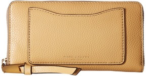 Marc Jacobs Recruit Standard Continental Wallet Wallet Handbags - GOLDEN BEIGE - STYLE