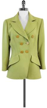 Christian Lacroix Green Wool Jacket