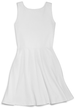 Aqua Girls' Bow Back Ponte Dress, Big Kid - 100% Exclusive
