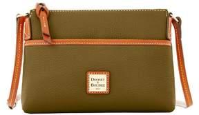 Dooney & Bourke Pebble Grain Ginger Pouchette Shoulder Bag - OLIVE - STYLE