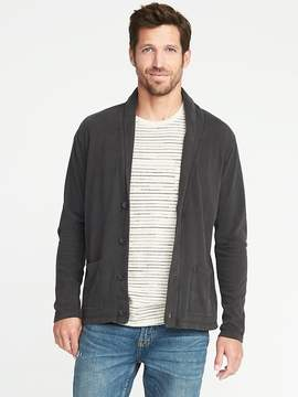 Old Navy Garment-Dyed Jersey Cardigan for Men