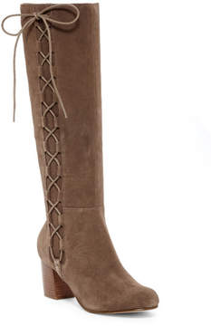 Sole Society Arabella Tall Lace-Up Boot