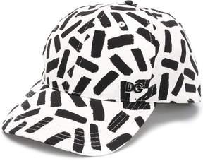 Dolce & Gabbana abstract print baseball cap