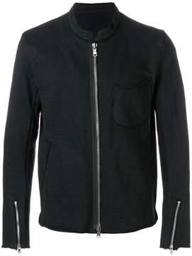 The Viridi-anne jersey biker jacket