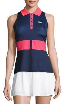 Fila MB Court Central Sleeveless Polo Shirt