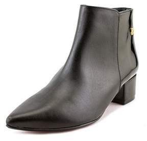 Cuplé Botin Palm Charol Pointed Toe Leather Ankle Boot.