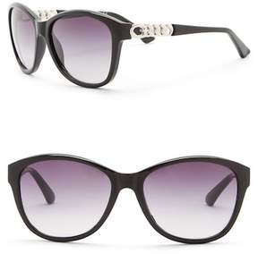GUESS 58mm Round Sunglasses