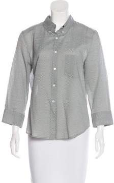 Boy By Band Of Outsiders Polka Dot Button-Up Top